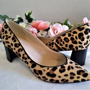 Marc Fisher Leopard Pointed Toe Pumps - NWOT